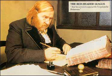 """the red headed league The red-headed league (1891) want to read this along with me this essay is part of the adventures of sherlock holmes, published in 1892i used the epub version found on feedbookscom we move on to another favorite story of doyle's, """"the red-headed league."""